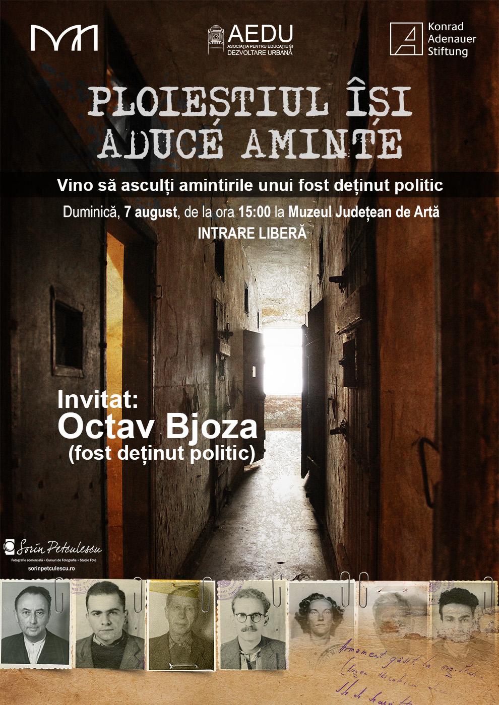Ploiestiul isi aduce aminte - Conferință susținută de Octav Bjoza