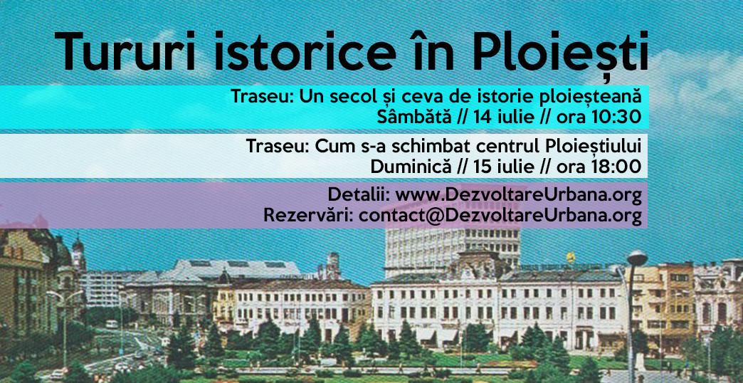 Permalink to: Tururi istorice în Ploiești (14 – 15 iulie)