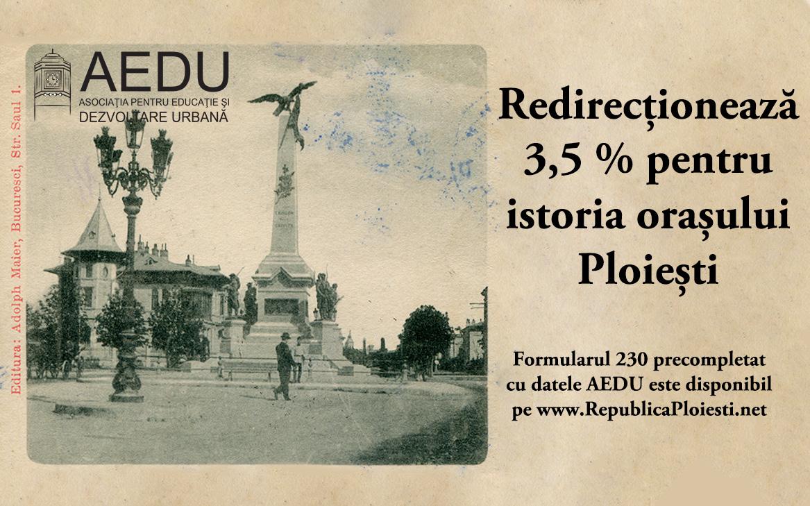 Permalink to: Redirecționează 3,5% către AEDU