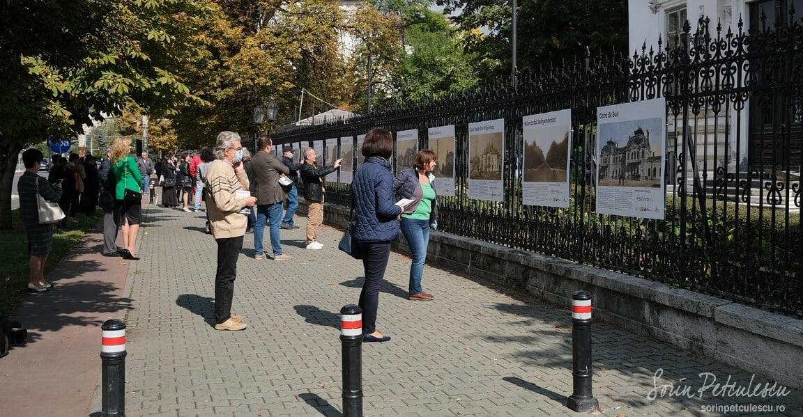"""Permalink to: Ecourile vernisajului expoziției outdoor """"Povești din Ploiești"""""""
